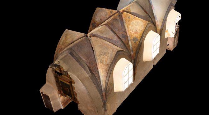 3D Photogrammetrie-Modell der St. Georgskapelle in der Veste Oberhaus